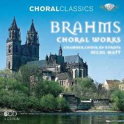 Chamber Choir of Europe / Nicol Matt - Brahms: Choral Works mp3 flac