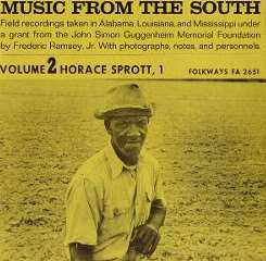 Horace Sprott - Music from the South, Vol. 2: Horace Sprott 1 mp3 flac